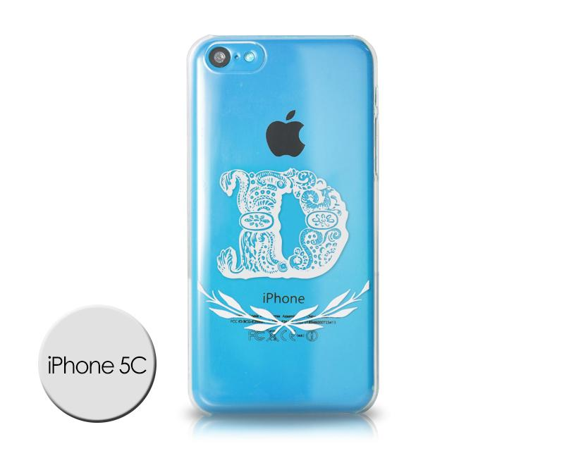 Alphabet Series iPhone 5C Case - D