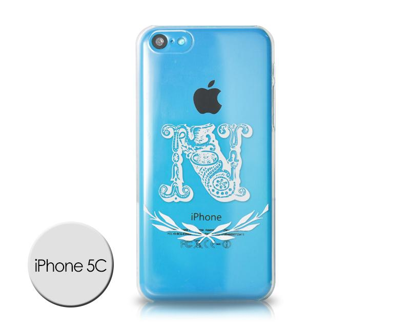 Alphabet Series iPhone 5C Case - N