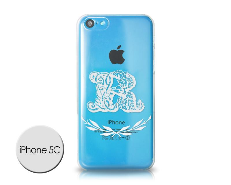 Alphabet Series iPhone 5C Case - R