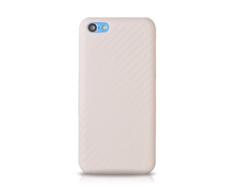 Twill Series iPhone 5C Leather Case - White