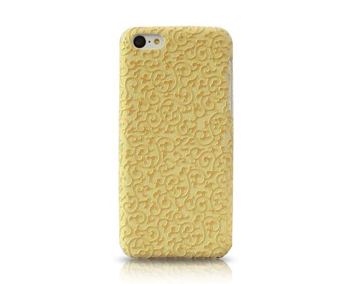 Rilievo Series iPhone 5C Case - Yellow