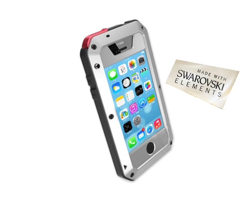 Waterproof Series iPhone 5C Metal Case - Silver