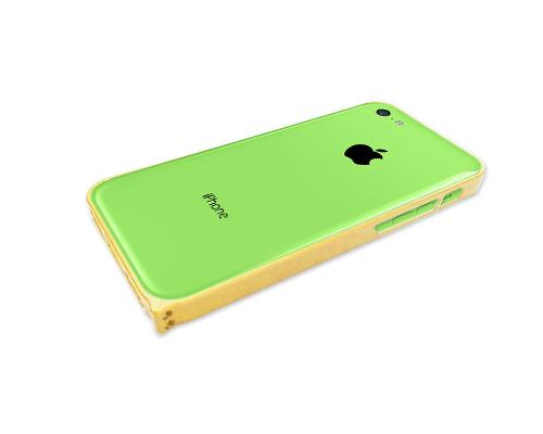 Bumper Series iPhone 5C Metal Case - Yellow