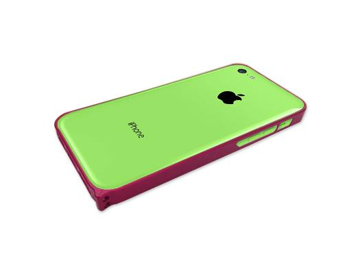 Bumper Series iPhone 5C Metal Case - Magenta