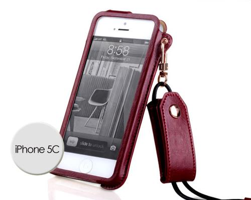 Eternal Series iPhone 5C Leather Case - Brown
