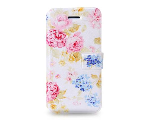 Famoso Series iPhone 5C Flip Leather Case - Carnivals