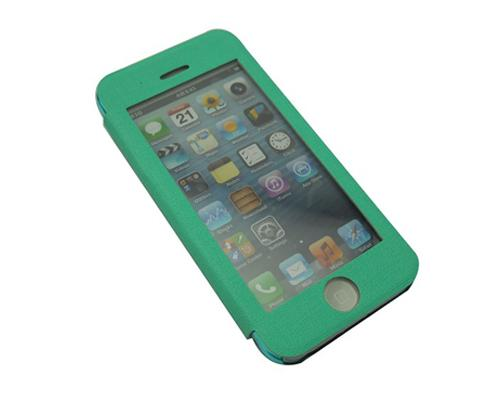 Eyelet Pro Series iPhone 5C Flip Leather Case - Green