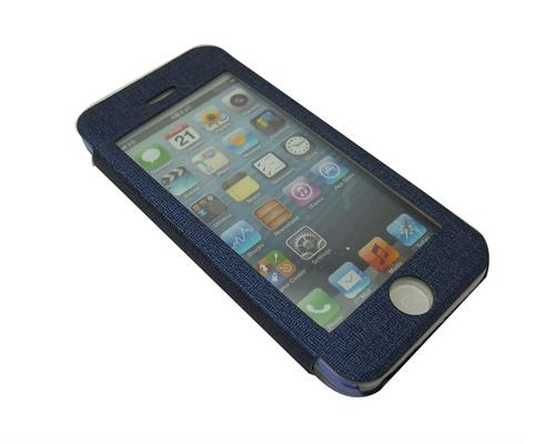 Eyelet Pro Series iPhone 5C Flip Leather Case - Blue