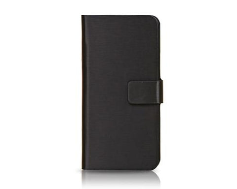 Fold Series iPhone 5C Flip Leather Case - Black