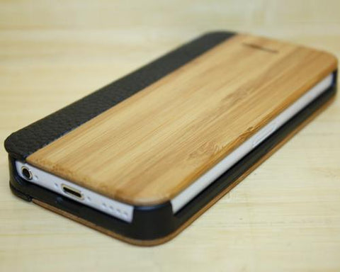 Stylish Genuine Wood Series iPhone 5C Case - Brown