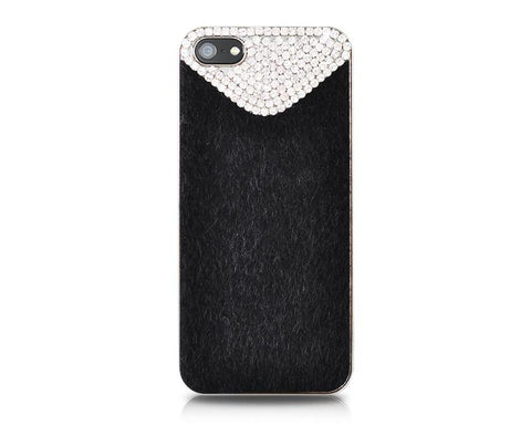 Furry Series iPhone 5 and 5S Crystal Case - Black