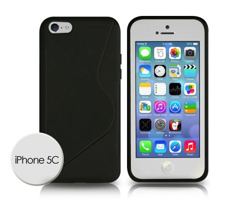 S-Line Series iPhone 5C Silicone Case - Black