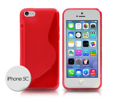 S-Line Series iPhone 5C Silicone Case - Red
