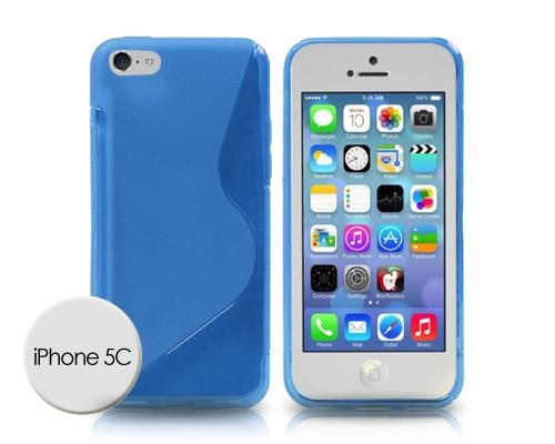S-Line Series iPhone 5C Silicone Case - Blue