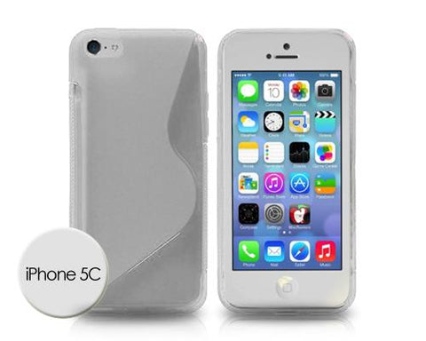 S-Line Series iPhone 5C Silicone Case - Transparent