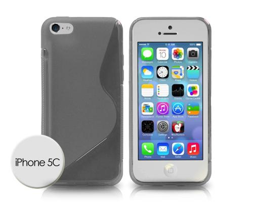 S-Line Series iPhone 5C Silicone Case - Gray