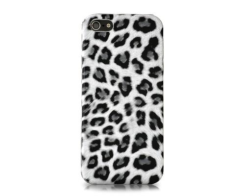 Leopard Series iPhone 5 and 5S Case - White