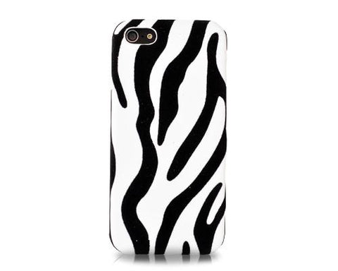 Zebra Series iPhone 5 and 5S Case - White