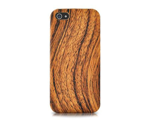 Wooden Series iPhone 5 and 5S Case - Brown