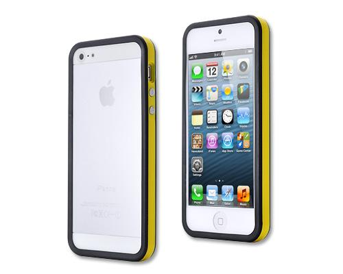 Bumper Series iPhone 5 and 5S Case - Black Yellow