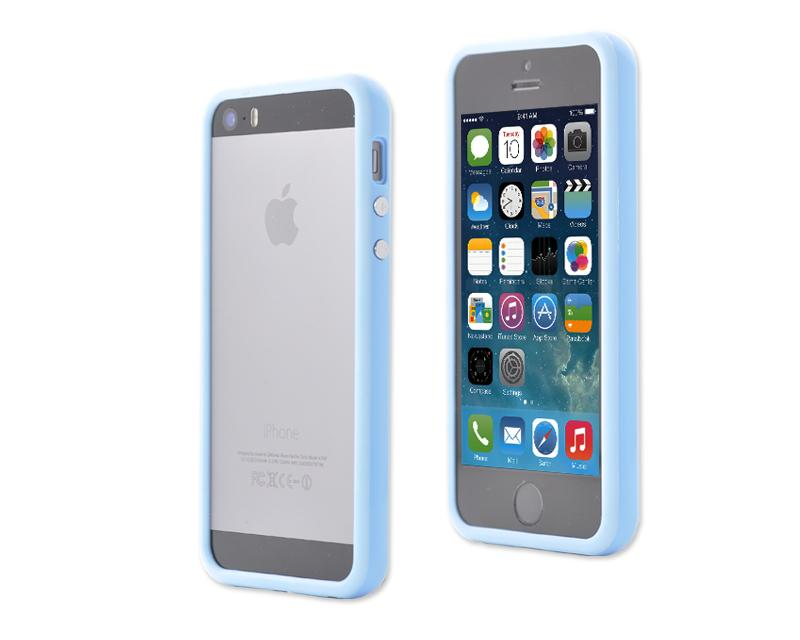 Bumper Series iPhone 5 and 5S Case - Blue