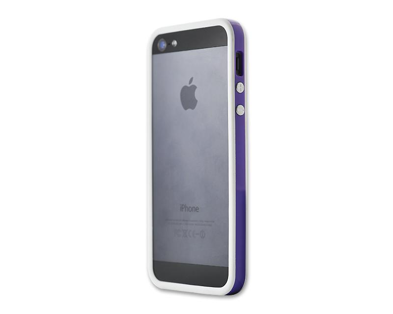 Bumper Series iPhone 5 and 5S Case - Purple