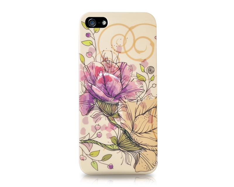 Inflore Series iPhone 5 and 5S Case - Campanulaceae