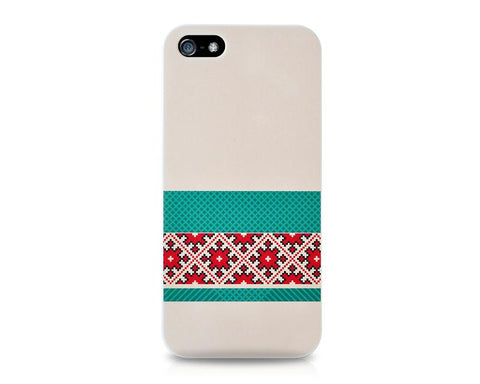 Christmas Series iPhone 5 and 5S Case - Block