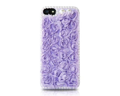 Rose Pearl Series iPhone 5 and 5S Case - Purple