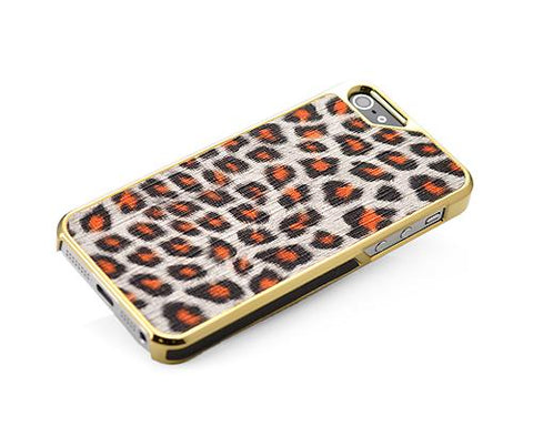 Metal Series iPhone 5 and 5S Case - Leopard
