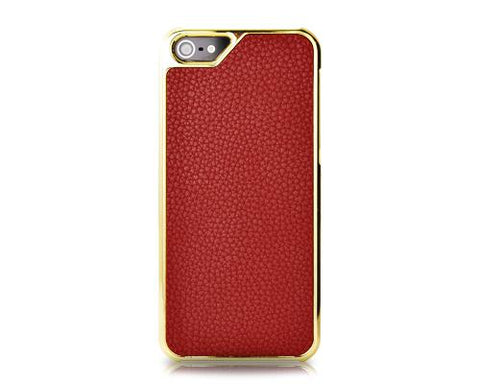 Metal Series iPhone 5 and 5S Case - Crimson
