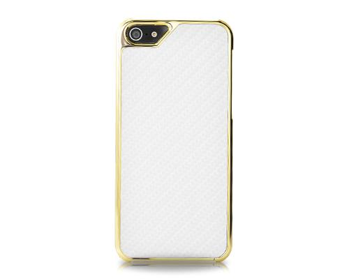 Metal Series iPhone 5 and 5S Case - Twill White