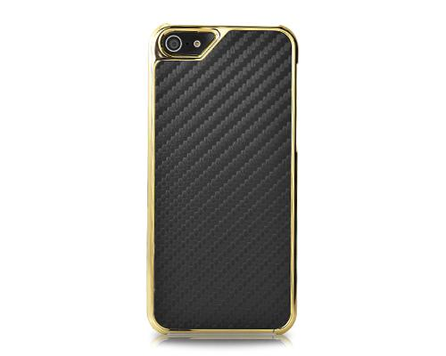 Metal Series iPhone 5 and 5S Case - Twill Black