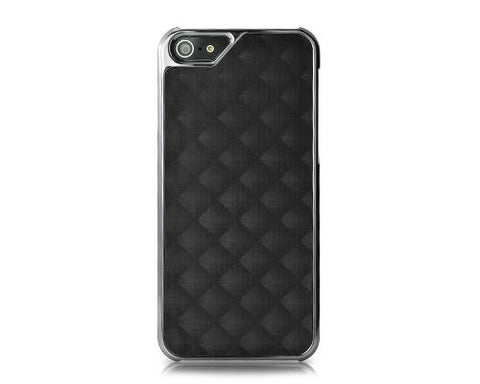 Metal Series iPhone 5 and 5S Case - Square Black