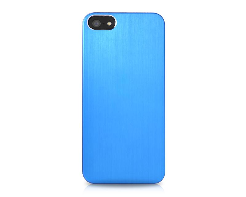 Disc Series iPhone 5 and 5S Metal Case - Blue