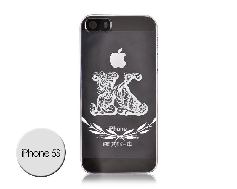 Alphabet Series iPhone 5S Case - K
