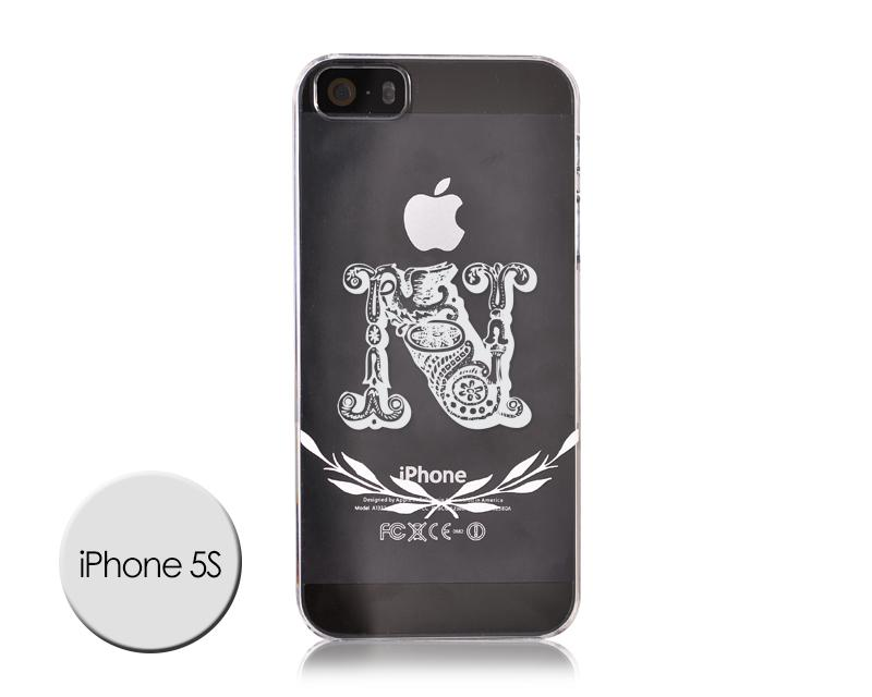 Alphabet Series iPhone 5S Case - N