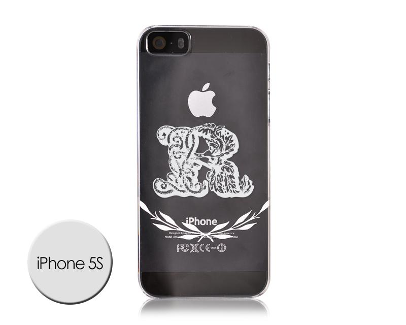 Alphabet Series iPhone 5 and 5S Case - R
