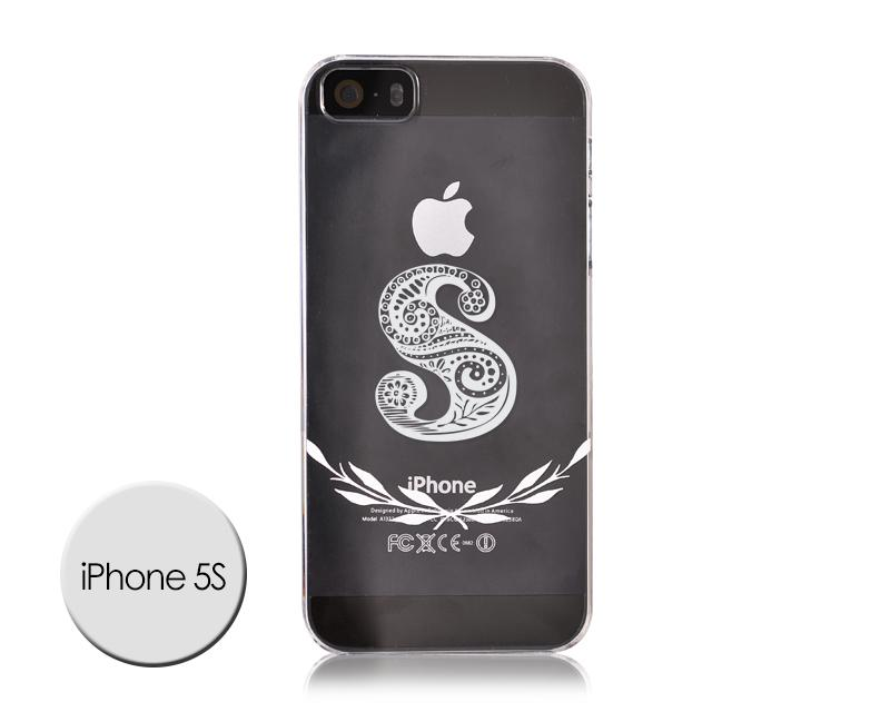 Alphabet Series iPhone 5 and 5S Case - S