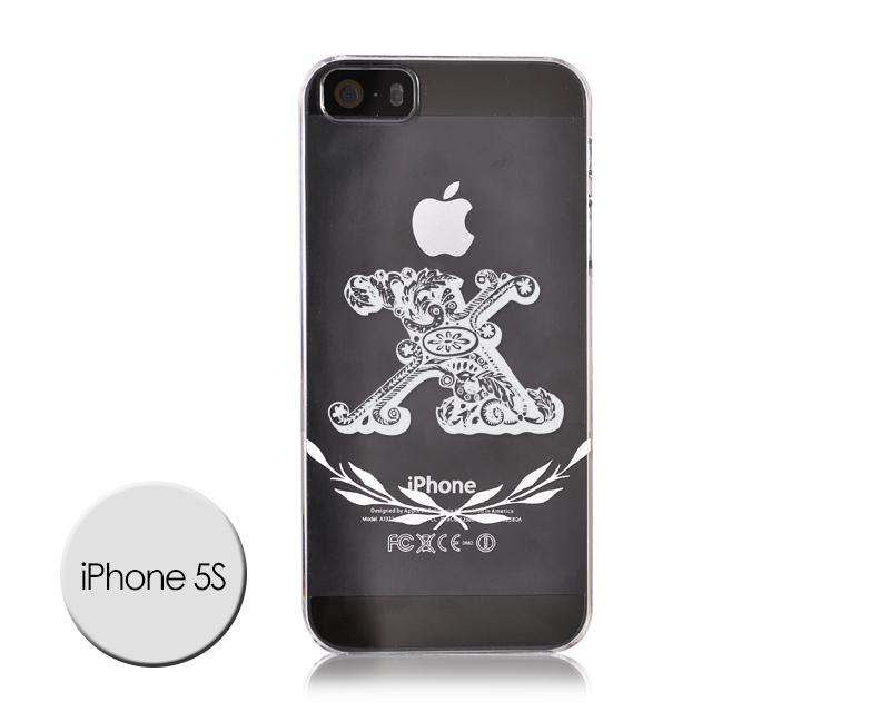 Alphabet Series iPhone 5 and 5S Case - X