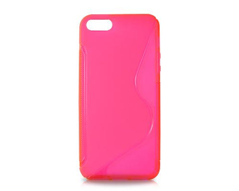 S-Line Series iPhone 5 and 5S Silicone Case - Red