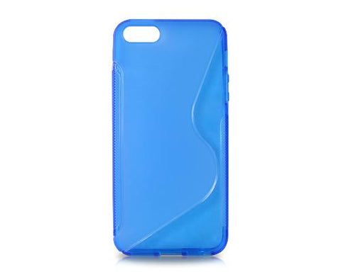 S-Line Series iPhone 5 and 5S Silicone Case - Blue