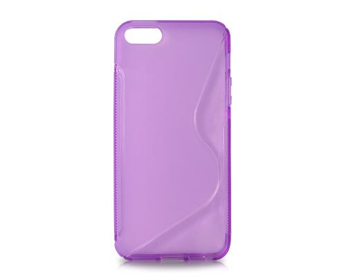 S-Line Series iPhone 5 and 5S Silicone Case - Purple