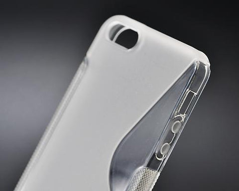 S-Line Series iPhone 5 and 5S Silicone Case - Transparent