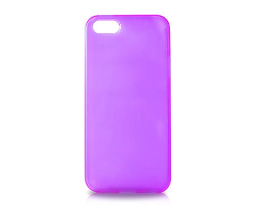 Pure Series iPhone 5 and 5S Silicone Case - Purple