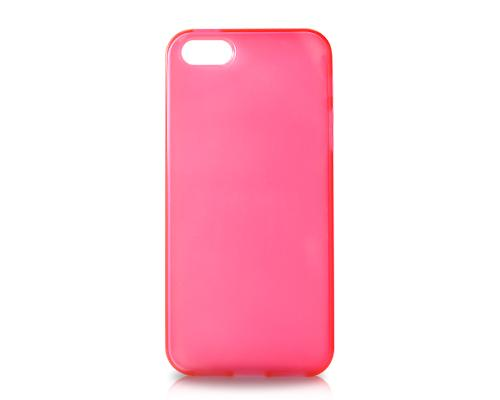 Pure Series iPhone 5 and 5S Silicone Case - Magenta