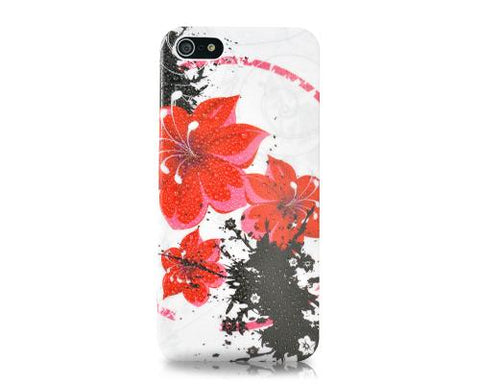 Joie Series iPhone 5 and 5S Case - Red Flowers