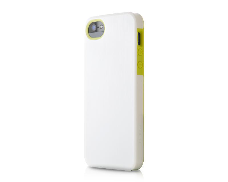 Hybrid Bumper Series iPhone 5 and 5S Case - White