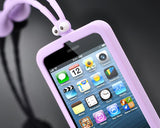 Grasshopper Series iPhone 5 and 5S Silicone Case - Purple
