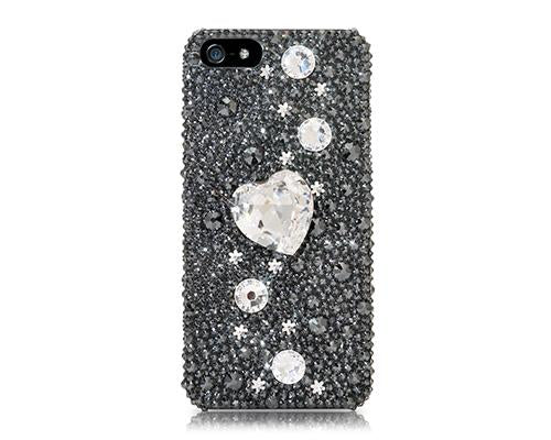 Fancy Love Bling Swarovski Crystal Phone Cases - Pure Love